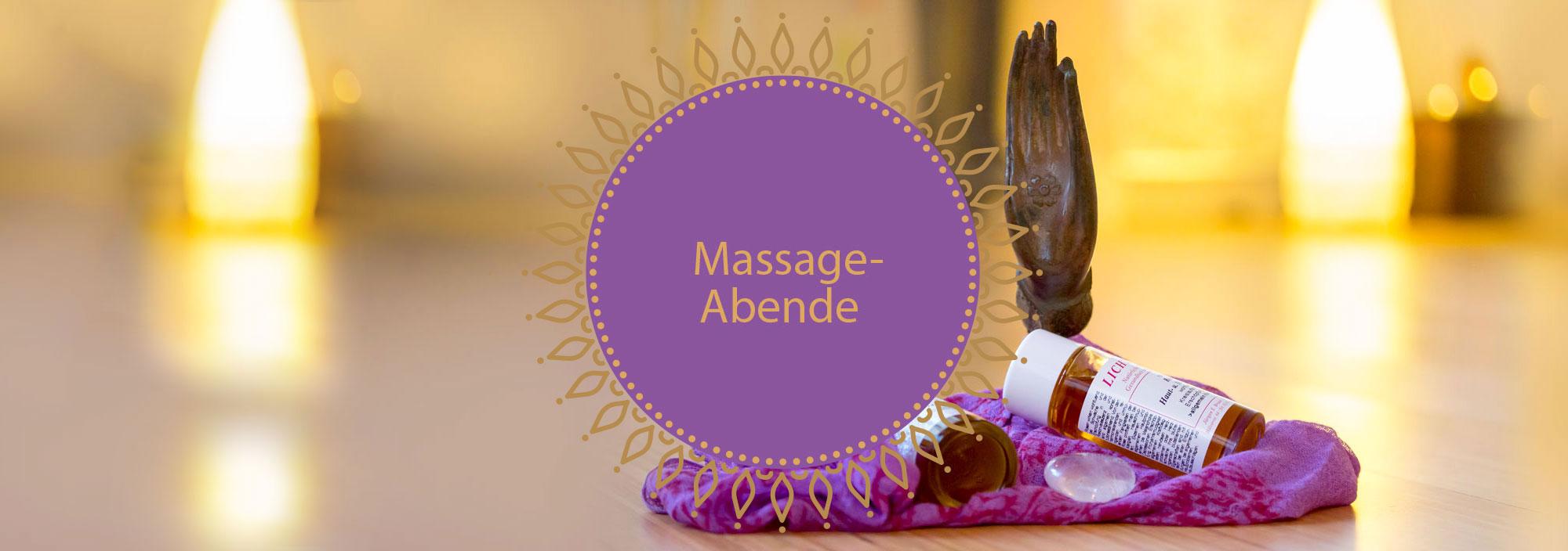 Massage Kurse am Abend