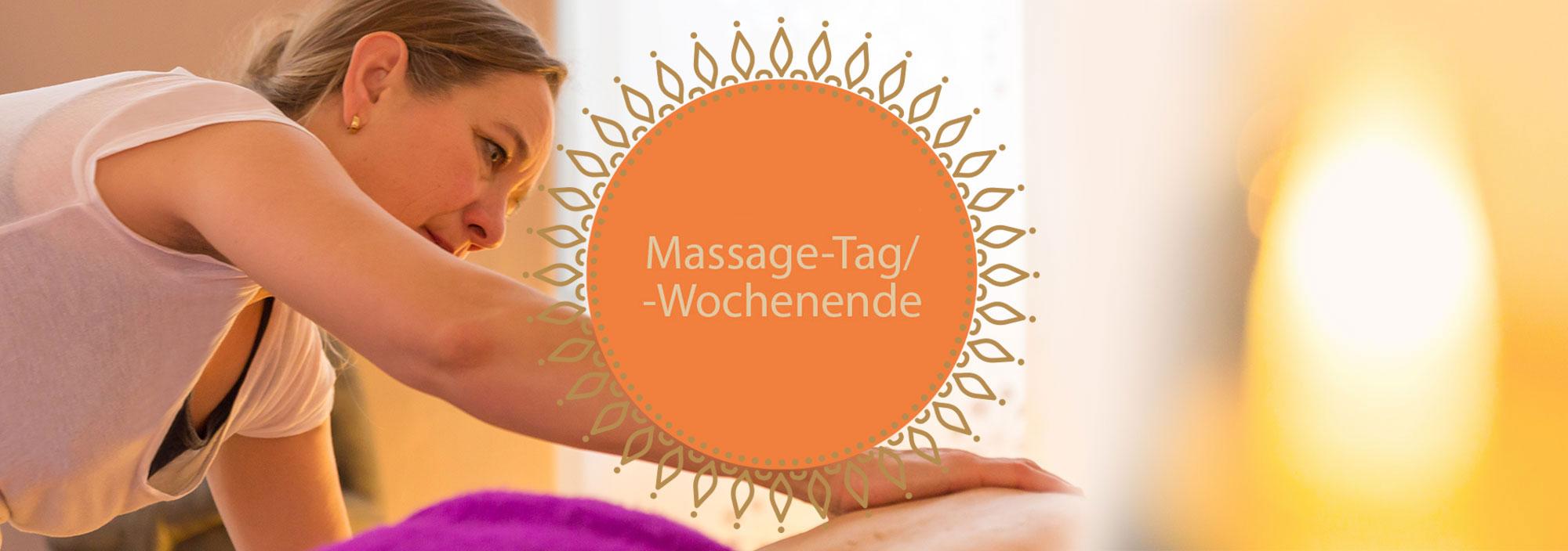 Massage Tages- und Wochenendekurse